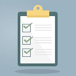 Checklist trước khi xuất file in
