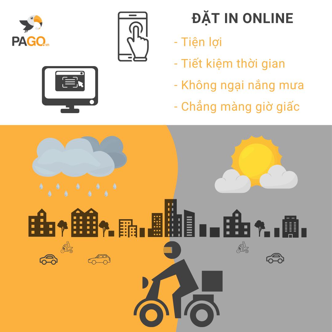 Đặt in online siêu tiện lợi cho mùa mưa bão