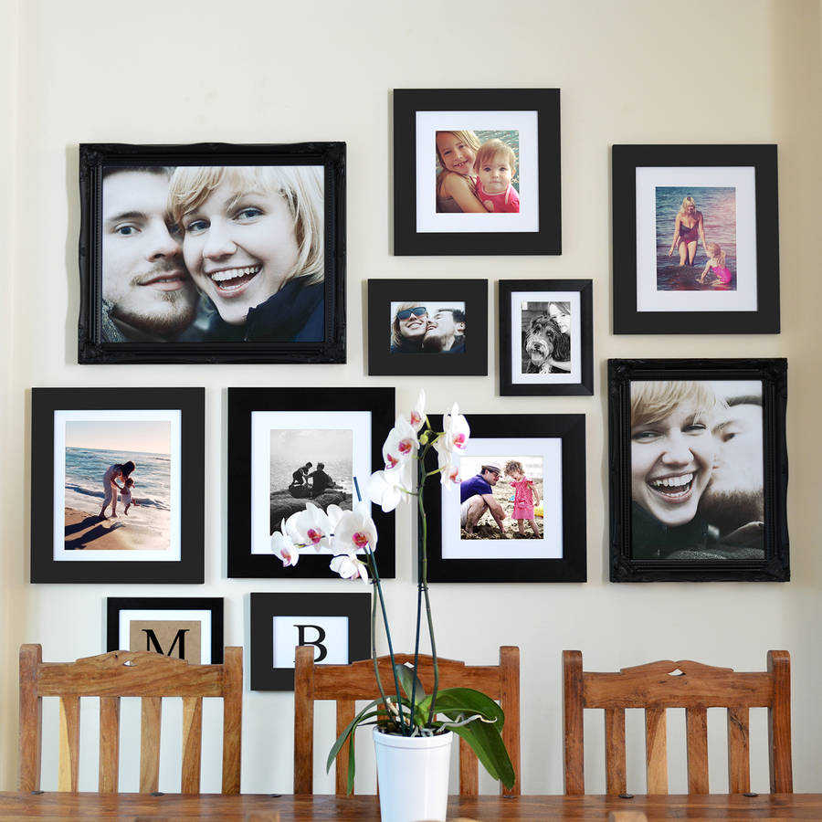original gallery frame wall collection various sizes