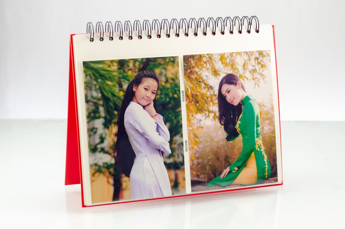 Album 80 ảnh kích thước 13×18 cm Monestar kiểu sổ lò xo