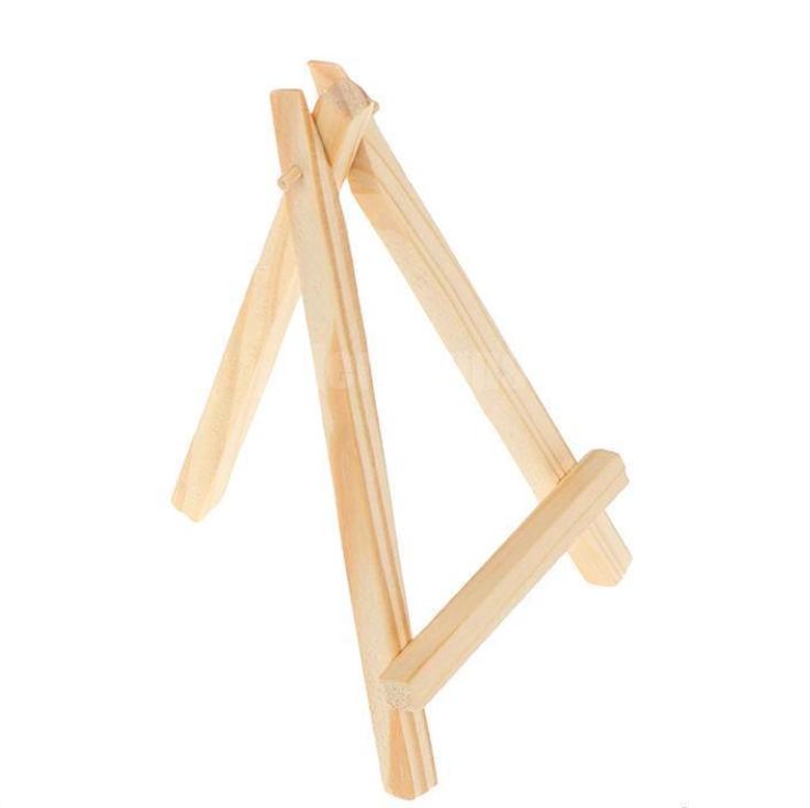 Đế gỗ 3 chân trưng ảnh nhỏ xinh