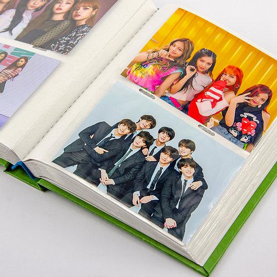 Album 120 ảnh KT 9x12cm màu Pastel